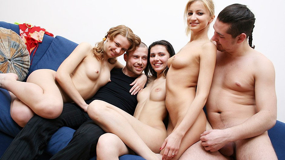 Fun blonde college party gamer girls 10