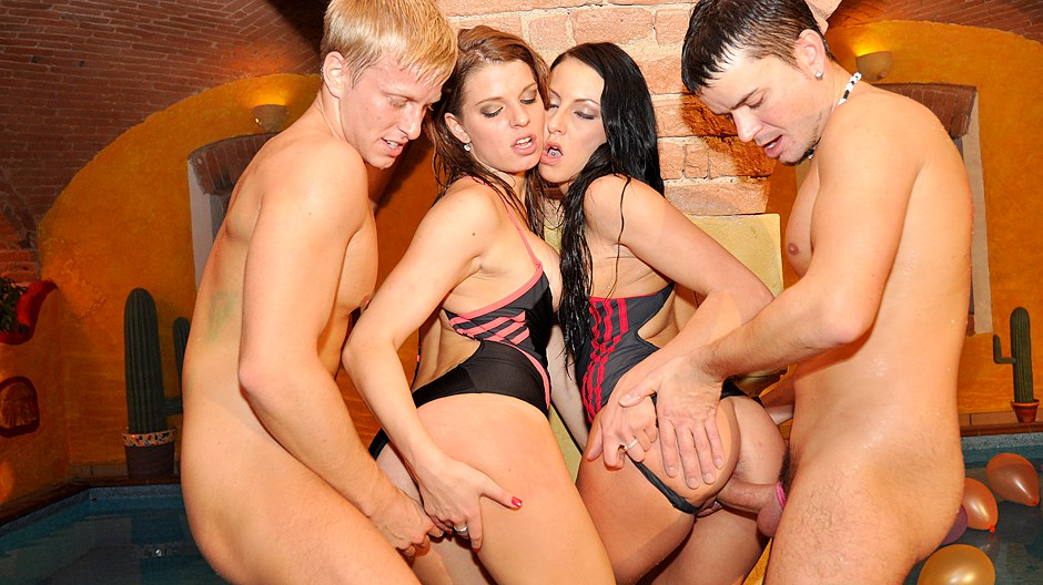 Wild college sex party 4 dvd