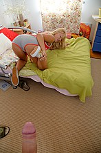 Deep Penetration Sex With A Hot Blondie - Picture 9